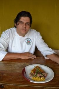 Chef Adriano Ramos e sua releitura da comida de um bandeirante