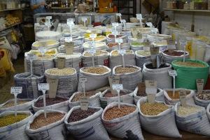 sacas de grãos