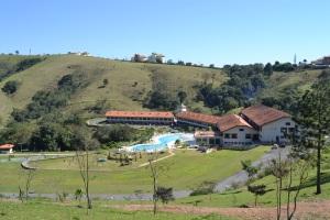 A natureza circunda o Resort Villa di Mantova