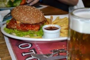 Ribs Burger