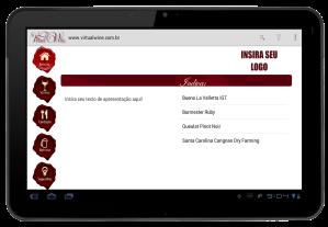 carta de vinhos digital