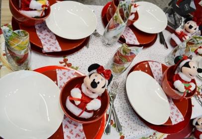 Mesa Natal crianças