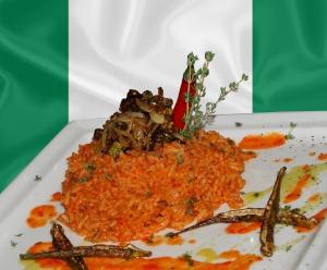 Arroz nigeriano