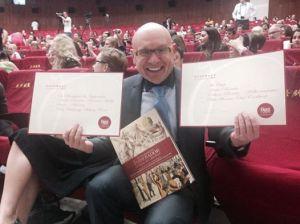 André Boccato sai vitorioso do CookBook Awards