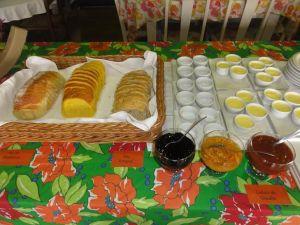 Café da manhã na Fazenda São José