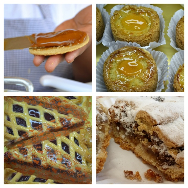 Stroopwafels de caramelo, rondos de damasco, Vlaais de amora e a verdadeira torta holandesa