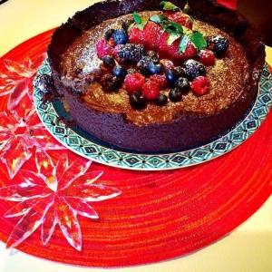 torta cookie frutas vermelhas