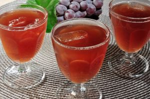 drink melão com vinho rosé
