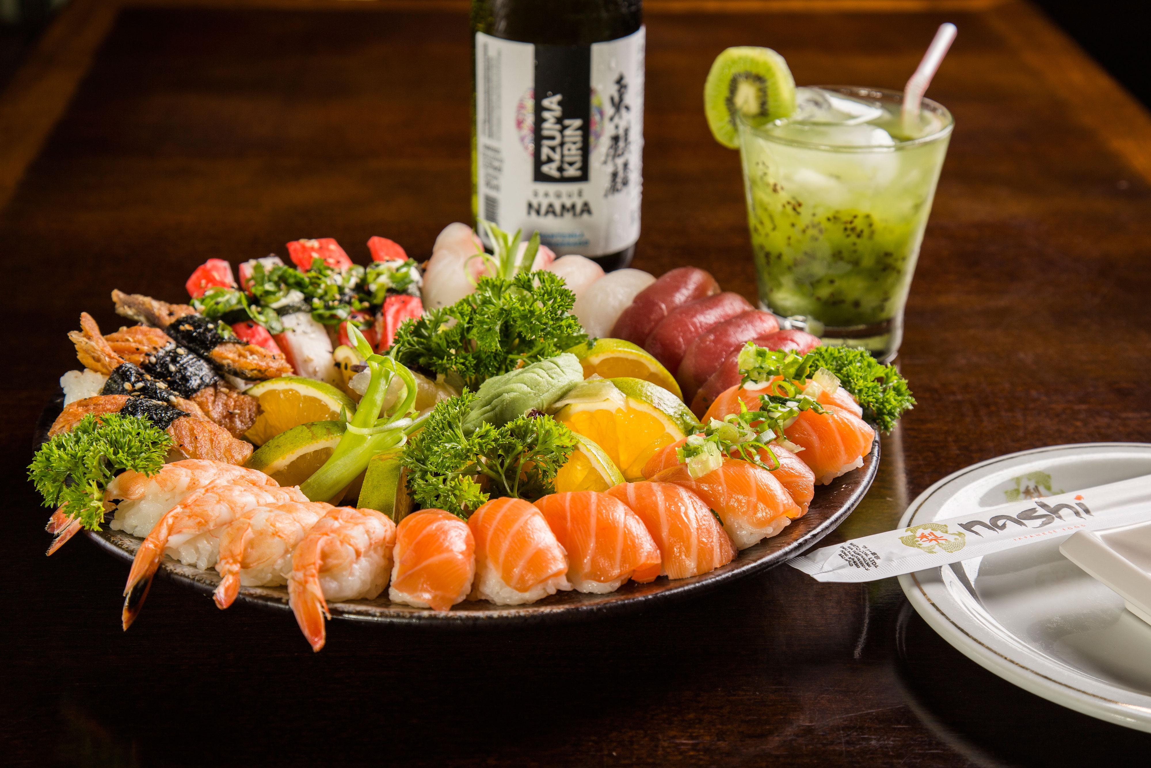   Nashi Japanese Food agora em Barão GeraldoEntre Sabores