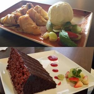 Banana Spring Rolls e Great Wall of Chocolate são um colírio para os olhos e um prazer para a boca