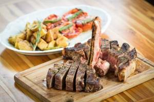 Bisteca Fiorentina do Duo Bruschetteria